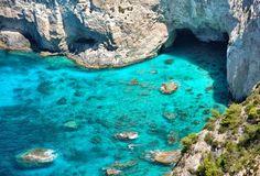 Greece, Zante island - Keri caves
