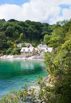 England Travel Inspiration - Durgan, Mawnan near Falmouth, Cornwall. Cornwall England, Devon And Cornwall, England Uk, Cornwall House, Oxford England, Yorkshire England, Yorkshire Dales, London England, Oh The Places You'll Go
