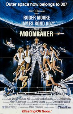 movie posters 1970 | The Geeky Nerfherder: Movie Poster Art: James Bond - The 1970's