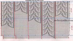 Топ спицами с ажурной вставкой. Узоры спицами для джемпера Knitting Charts, Lace Knitting, Knitting Patterns, Yarn Thread, Vest Pattern, Knitting For Beginners, Diy, Tops, Type 3