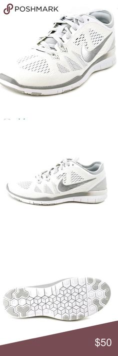 Nike free 5.0 TR Fit 5 metallic training running Dynamic Flywire technology provides support in key training areas. Mesh upper with lightweight synthetic material offers unmatched breathability. Strategically placed rubber pods in heel and forefoot provide durability and traction. Nike Shoes Athletic Shoes