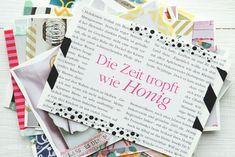 DIY // Postkarten // living at home // was eigenes blog // postcards // Die Zeit tropft wie Honig