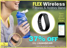 Smart Activity Wrist Band. Sync with your phone to track your daily activities like Heart rate, running, sleep/wake etc.