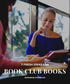 7 fresh book club books to read based on beloved favorites. #books #bookclub #bookclubbooks
