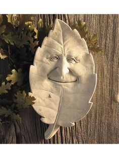Indoor/Outdoor Cast Stone Wall Plaque: Carruth Studio: Sam Shady Garden