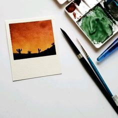 Watercolor Flowers Discover Watercolor sunset Using winsor and newton to create this sunset Watercolor Sunset, Watercolor Video, Watercolor Flowers, Watercolor Paintings, Drawing Sunset, Small Canvas Art, Mini Canvas Art, Watercolor Painting Techniques, Painting & Drawing
