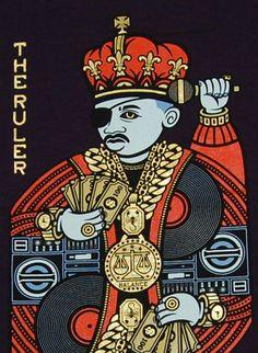 """nycmagazine: """" Slick Rick The Ruler tee """" Hip Hop Lyrics, Music Pics, Rap Music, Hip Hop Quotes, Hip Hop Albums, Hip Hop Art, Hip Hop Outfits, Saints, African American Art"""