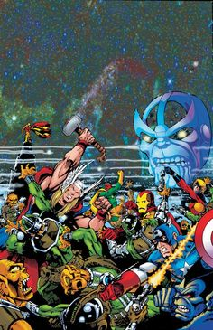 Avengers by Jim Starlin *