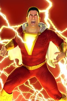 Shazam! Fan Art by daysoframpage on DeviantArt Captain Marvel Shazam, Amazing Art, Iron Man, Dc Comics, Concept Art, Nerd, Fan Art, Deviantart, Superhero