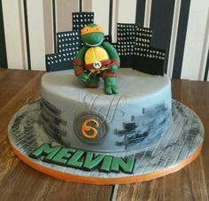 Ninja Turtles cake  Birthday cake