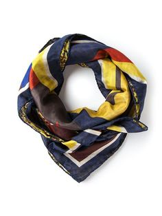 Shop Pierre-Louis Mascia print mix scarf in Bernardelli from the world's best independent boutiques at farfetch.com. Over 1000 designers from 300 boutiques in one website.