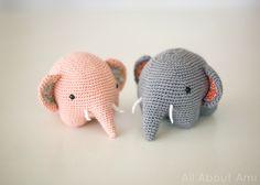 Elephant Amigurumis!