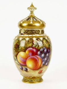 Royal Worcester Fruit Vase