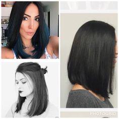Hair cuts largo 25 ideas for 2019 Mom Hairstyles, Haircuts For Long Hair, Trendy Hairstyles, Short Hair Cuts, Short Hair Styles, Medium Hair Styles For Women, Pinterest Hair, Hair Color Balayage, Love Hair