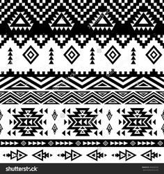 Seamless Ethnic Pattern Background With Geometric Aztec, Maya, Peru, Mexican, Tribal, American, Indian Elements. Aztec Pattern. Peruvian Pattern. Mayan Pattern. Illustration vectorielle libre de droits 405605533 : Shutterstock