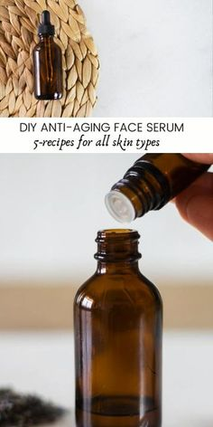 Haut Routine, Serum For Dry Skin, Belleza Diy, Best Face Serum, Face Serum Diy, Essential Oils For Face, Best Skin Care Regimen, Best Face Products, Beauty Products