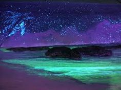 Bioluminescent waters. I am aiming for Vieques Island, Puerto Rico for the honeymoon. It has the brightest bioluminescent bay in the  world.