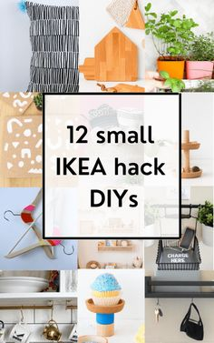 12 Small IKEA Hack DIYs. If you don't have a lot of time, and need a manageable DIY project, these IKEA hack DIYs are for you!