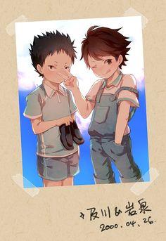 Iwaizumi Hajime & Oikawa Tooru | Haikyuu!! #anime