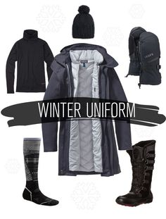the warmest jacket, the warmest boots, the warmest gloves... how to dress for winter in 4 layers.