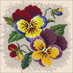 Cat Cross Stitches, Cross Stitch Borders, Counted Cross Stitch Kits, Cross Stitch Charts, Cross Stitch Designs, Cross Stitching, Cross Stitch Patterns, Loom Patterns, Embroidery Flowers Pattern