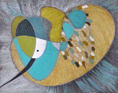 wall art print, bird art, original artwork, colored pencil art, modern painting, print illustration, bird wall art, bird prints, bird prints by mblayers on Etsy