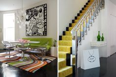 Brighten up a staircase!