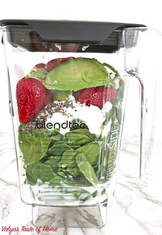 delicious Healthy Avocado Spinach and Strawberry Smoothie healthy diet healthy eating kid friendly meal replacement drink organic avocado organic chia seeds organic greek yogurt organic maple syrup organic spinach organic strawberries vanilla almond milk Strawberry Spinach Smoothie, Yogurt Smoothies, Oatmeal Smoothies, Healthy Smoothies, Strawberry Plants, Strawberry Avocado Smoothie, Almond Milk Smoothie Recipes, Spinach Smoothie Recipes, Vanilla Smoothie
