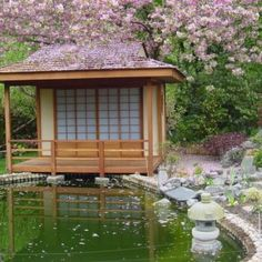 Japanese Tea house for oriental gardens made in the UK from .- Japanese Tea house for oriental gardens made in the UK from softwood Japanese Hardwood Tea House - Japanese Bath House, Japanese Style House, Zen Garden Design, Japanese Garden Design, Japanese Gardens, Japanese Interior, Asian Garden, Asian House, Japanese Architecture