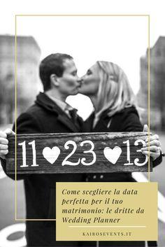 La location, il numero degli ospiti, persino il viaggio di nozze. Il periodo dell'anno in cui ti sposi influenzerà molti dettagli! Ma come trovare il giorno davvero 'perfetto' sotto tutti i punti di vista, e non solo sul calendario? Scopri gli 8 consigli da wedding planner su come scegliere la data perfetta per il tuo matrimonio!