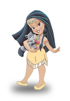 Little Pocahontas - disney-princess Photo