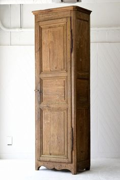 Tall Wooden Cabinet