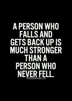 A person who falls