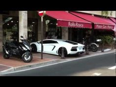 Follow me:  http://www.facebook.com/pages/FerrarioEnzo/223014341110249  Here are some new exciting car spots for you...  I recorded all of these supercars on one autumn day in Monaco !  Below a list of the cars featured in this video:    Audi R8  Ferrari California  Ferrari FF  Ferrari F430  Ferrari F430 Spider  Ferrari F50  Ferrari 458 Italia  Ferrari 599 G...