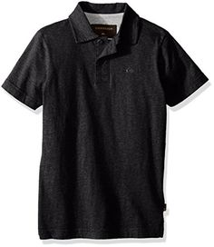 Quiksilver Big Boys Dry Harbour Youth Knit Top Dark Grey Heather 12 *** Want additional info? Click on the image.