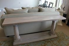 White Scrubbed Pine Farmhouse Table I Love The Look Of A