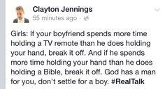 Real talk w/ Clayton Jennings.