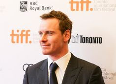 Michael Fassbender on the 12 Years A Slave red carpet #TIFF13