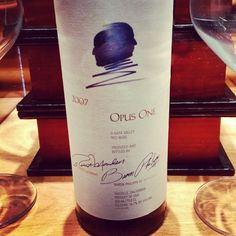 A wine baron partners with a real baron to produce a tasty, pricey work of culinary vintner-ing.