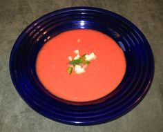 10 Spanish Dishes You Must Try at Least Once: Gazpacho (Cold Tomato Soup or Liquid Salad)