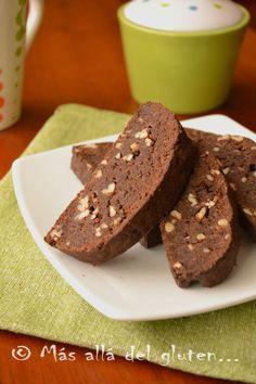 Más allá del gluten...: Biscotti de Quinua y Chocolate (Receta GFCFSF, Veg...