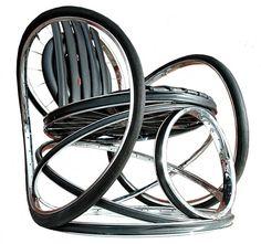 Bicycle based furniture.