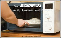 I haven't used our microwave in over a year. Contrary to where you think I am heading, I actually stopped using our microwave due to reasons unrelated to health. via Homemade Mommy.