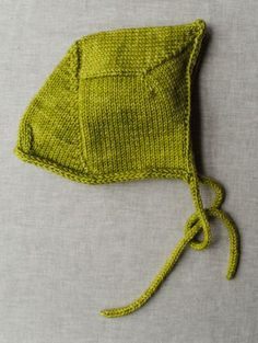 Love this bonnet from Purl Bee