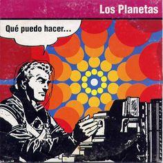 """CvA280. Los Planetas """"Qué Puedo Hacer"""" Cdsg by Javier Aramburu / BMG Ariola 1994 / #Albumcover"""