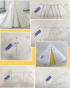 Secrets to Drafting Skirt Patterns - Threads Skirt Patterns Sewing, Dress Sewing Patterns, Doll Clothes Patterns, Sewing Patterns Free, Sewing Clothes, Clothing Patterns, Techniques Couture, Sewing Techniques, Modelista