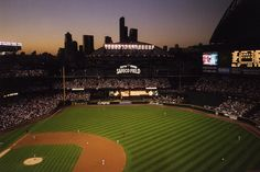 Spent many hours at Safeco Field, Seattle, behind the scenes with my buddy Jeff who designed the sound system for the stadium Beautiful Places To Travel, Great Places, Places To See, Places Ive Been, Amazing Places, Mariners Baseball, Seattle Mariners, Mlb Stadiums, Tens Place