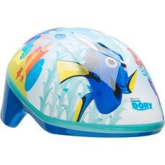 Bell Sports Disney Finding Dory Toddler Bicycle Helmet, Blue