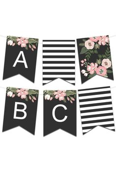 Printable Banners - Make Your Own Banners With Our Printable Templates Happy Birthday Banner Printable, Free Printable Banner Letters, Happy Birthday Tag, Diy Birthday Banner, Diy Banner, Printable Templates, Origami Templates, Box Templates, Printables