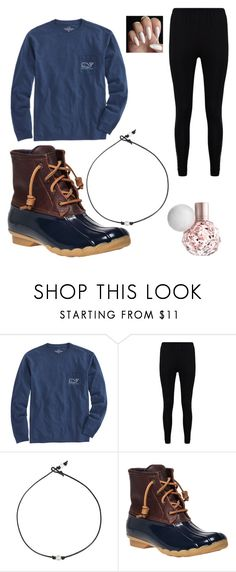 """""""Untitled #77"""" by grandesdw ❤ liked on Polyvore featuring Vineyard Vines, Boohoo and Sperry"""